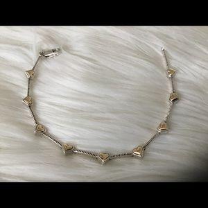 "Vintage 14k & 925 Bracelet! 7"""